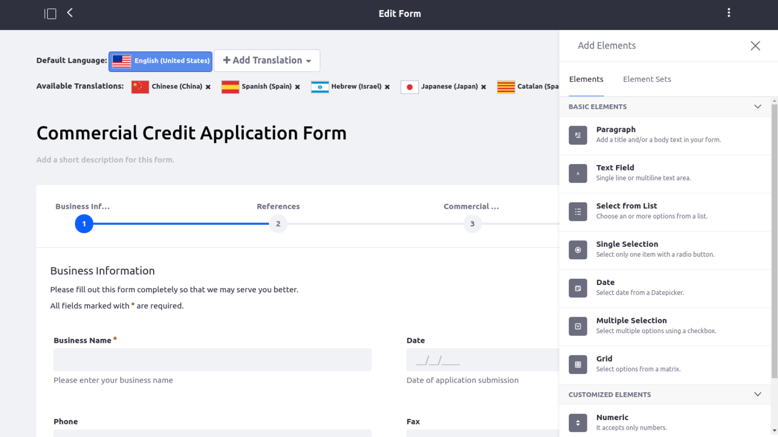 Forms and Workflow